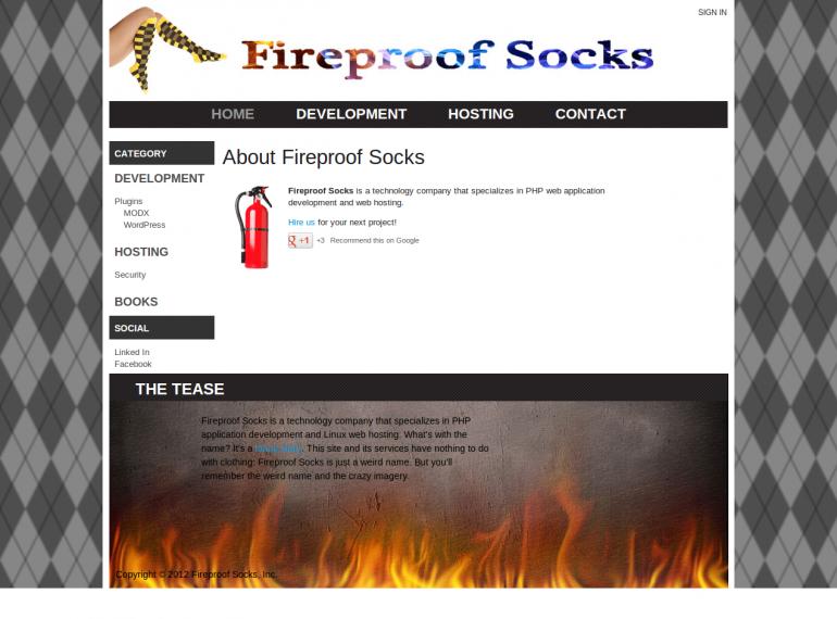 Fireproof Socks